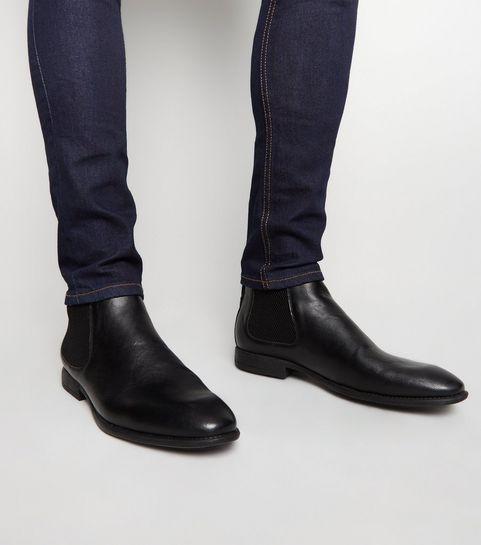 separation shoes 7e56e 8ba14 Schwarze Herrenstiefel | Stiefel für Herren | New Look