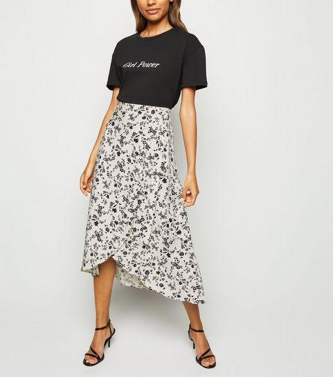 e4093554b12b83 Wrap Skirts | Wrap Around Skirts | New Look