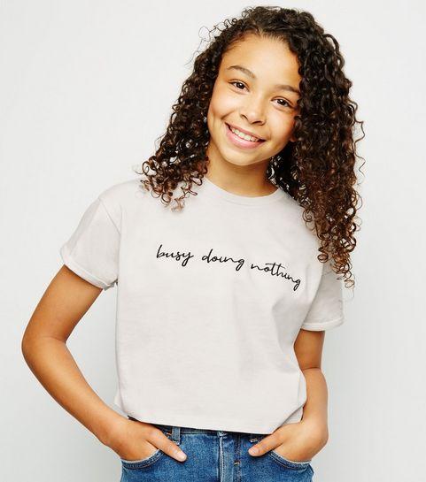 ff9ed8328 Girls' T-Shirts | T-Shirts for Teenage Girls | New Look