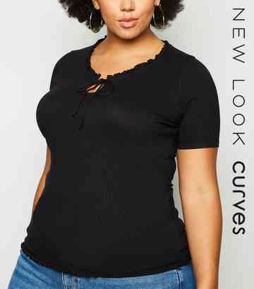 d52e33afb Plus Size Tops | Plus Size Blouses & Shirts | New Look
