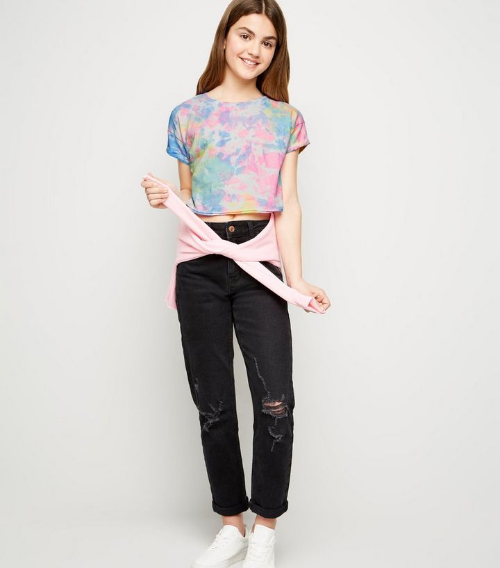 2e13a01f58 Girls Multicoloured Neon Tie Dye T-Shirt Add to Saved Items Remove from  Saved Items