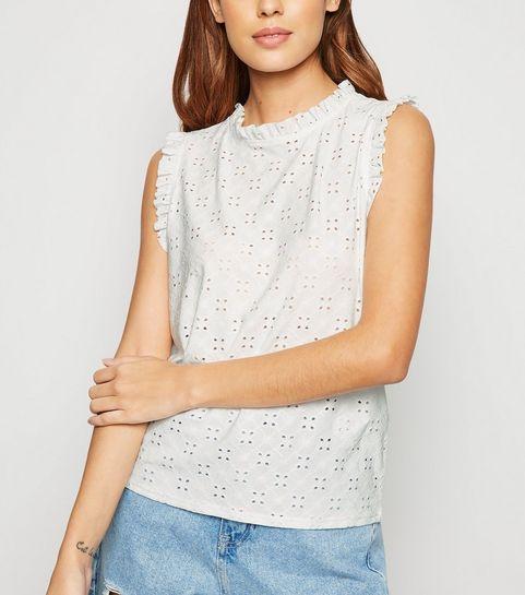 b2ce92793590 Crochet Tops   Crochet Crop Tops   New Look