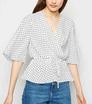 30f05b082b0 Tie Front Tops | Tie Front Blouses & Crop Tops | New Look