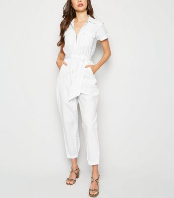 Innocence White Zip Front Boiler Suit