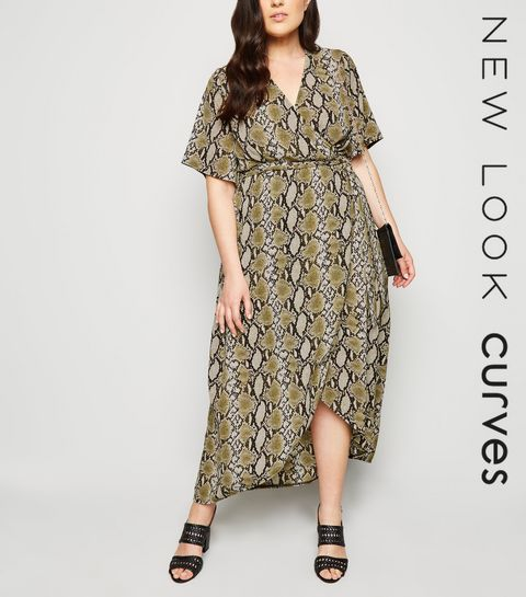 1c936777c290 Plus Size Dresses | Plus Size Maxi & Midi Dresses | New Look