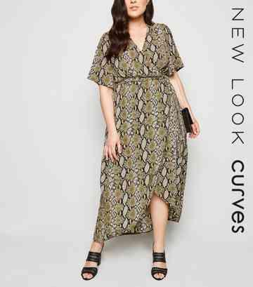 1fd1b9c4818 Plus Size Dresses | Plus Size Maxi & Midi Dresses | New Look