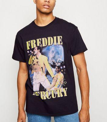 Wishlist T Ajouter Slogan La Shirt Black Mercury Signature À Supprimer Freddie De BdreQCxoW