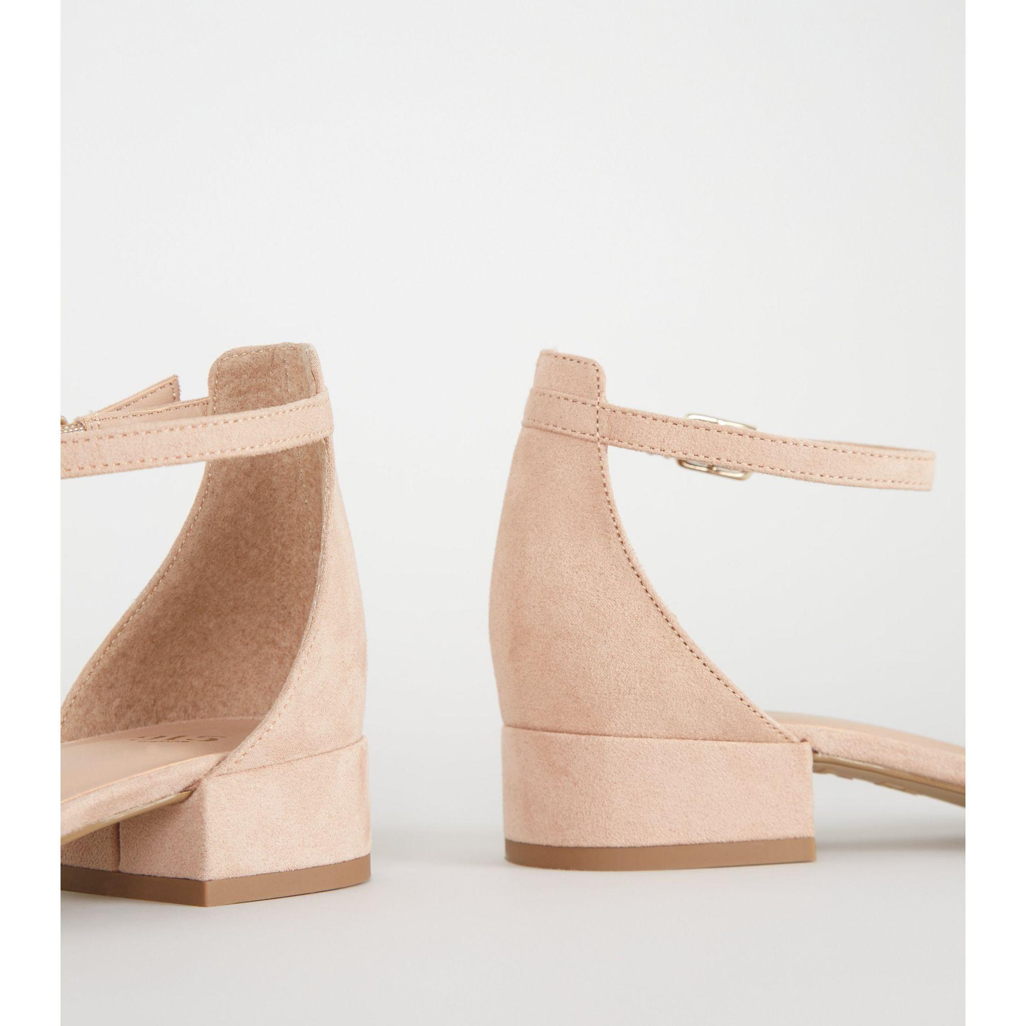Swimwear Nude Sandals Low Heel Jpg