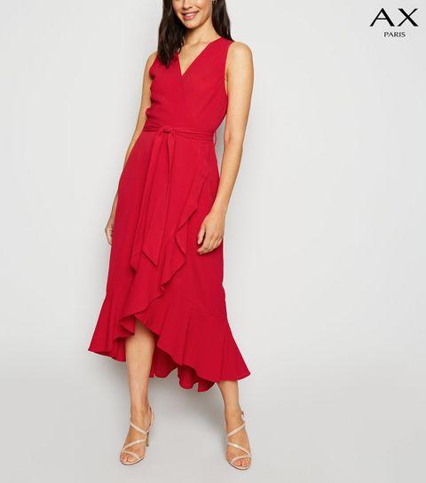 1f11edf1cfac Women's Wrap Dresses | Floral & Velvet Dresses | New Look