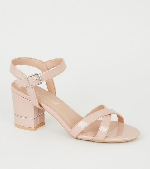 623ee82cdac Nude Heels | Nude Wedges, Platform Heels & Strappy Heels | New Look