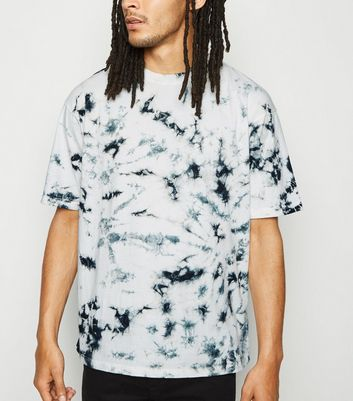 White Tie Dye Cotton T-Shirt
