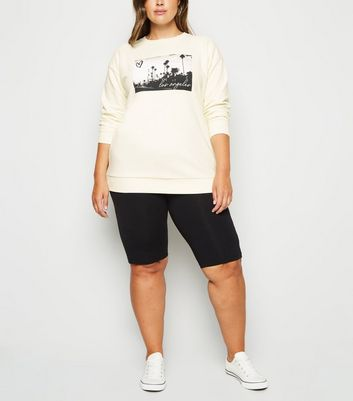 Curves Off White Los Angeles Photo Sweatshirt