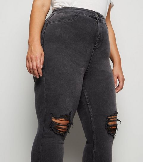 purchase newest beautiful style 2019 discount sale Plus Size Jeans | Plus Size Ripped Jeans & Jeggings | New Look