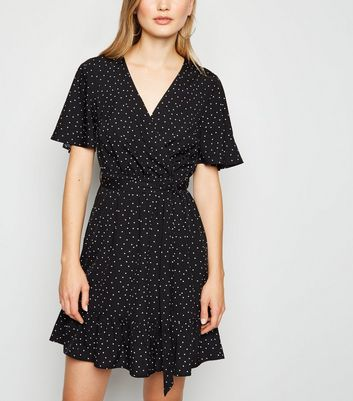 New Look Damen Kleid Wrap