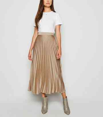 ea3a19d140367 Midi Skirts | Pleated Midi and A-Line Midi Skirts | New Look