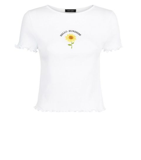 74a34a8d1b351 Slogan Tees   Slogan & Logo T-Shirts   New Look