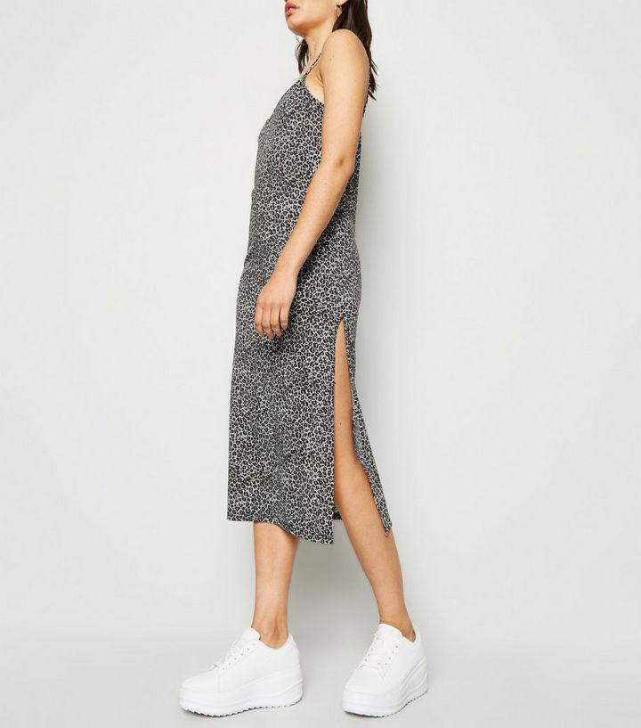 32dfa83a0754 Home · Womens · Clothing · Dresses · Cameo Rose Light Grey Leopard Print  Midi Dress. ×. ×. ×. Shop the look