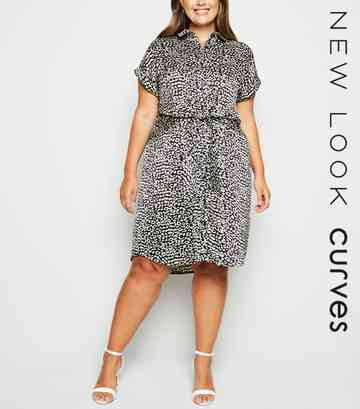 bc6d6aad4561 Plus Size Dresses   Plus Size Maxi & Midi Dresses   New Look