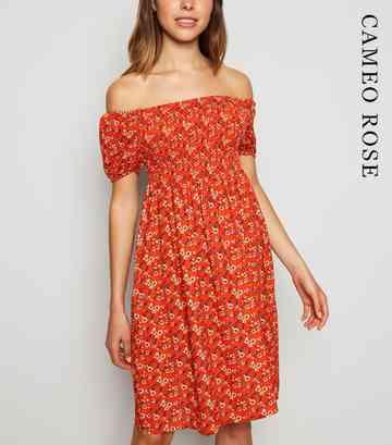 0d8448225cea Bardot Dresses | Off The Shoulder Dresses | New Look