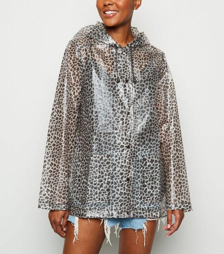 Shop für echte am beliebtesten offizielle Fotos Urban Bliss – Brauner Regenmantel mit Leopardenmuster Für später speichern  Von gespeicherten Artikeln entfernen