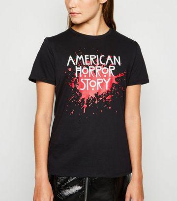 Black American Horror Story Logo T-Shirt