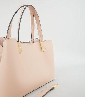 mini pink tote bag