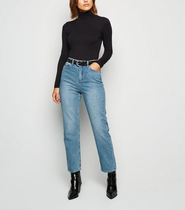 Urban Bliss Blue Straight Leg Jeans
