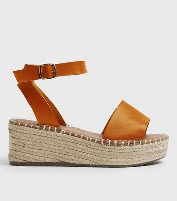 wide fit espadrille platform sandals