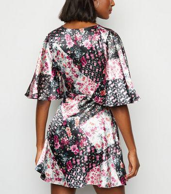 Innocence Multicoloured Patchwork Dress New Look