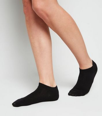 5 Pack Black Ankle Trainer Socks | New Look