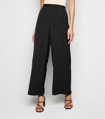 pantalon tres large a elastique