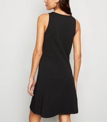Noisy May Black A-Line Mini Dress New Look