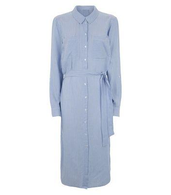 JDY Robe chemise bleu pâle mi longue à rayures Ajouter à la Wishlist Supprimer de la Wishlist