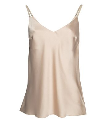 JUSTYOUROUTFIT Stone Satin Cami New Look