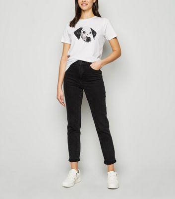 white dalmatian dog print t-shirt new look